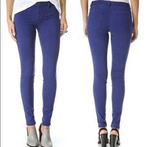 J brand maria blueberry jeans